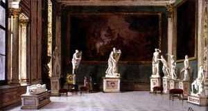 Antonietta Brandeis - Sculpture Gallery at the Pitti Palace, Florence