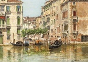 Traghetto Maria del Giglio a view of Venice