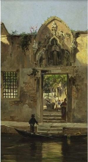 Antonietta Brandeis - Arch At The Abbey Of The Misericordia, Venice