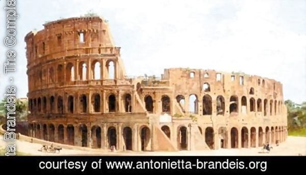 Antonietta Brandeis - The Colliseum, Rome