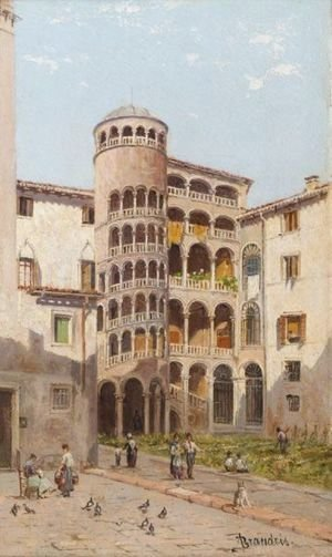 Antonietta Brandeis - The Scala Boveri, Venice