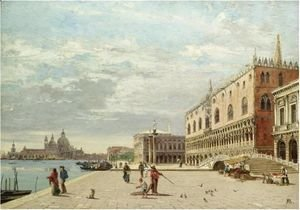 Antonietta Brandeis - The Molo, Venice
